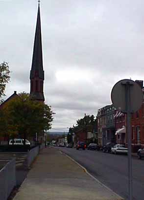 View of Hudson Church